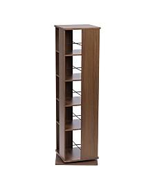 5 Tier Revolving Bookshelf
