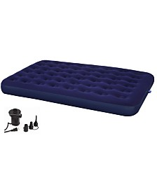 Second Avenue Collection Queen Air Mattress with Electric Air Pump