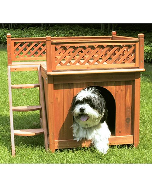 zoovilla Room with A View Dog House