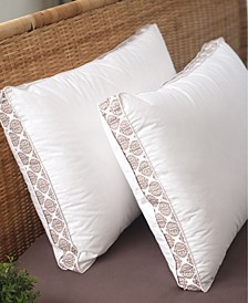 """Cottage Style Home 2"""" Gusset Printed Pillow, Jumbo"""