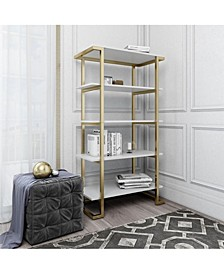 by Cosmopolitan  Camila 5 Shelf Bookcase