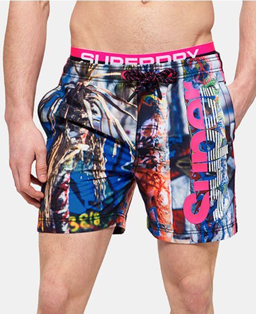 fc66aa1a52 Superdry Men's Scenic Volley Swim Shorts & Reviews - Swimwear - Men ...