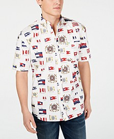 Tommy Jeans Men's Flag Printed Shirt