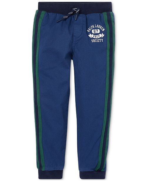 Polo Ralph Lauren Little Boys Tapered Stretch Joggers