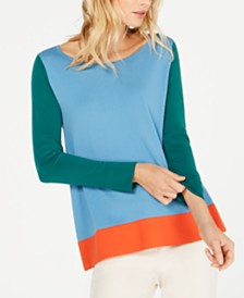 Weekend Max Mara Colorblocked Sweater