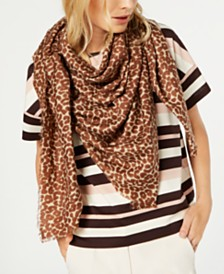 Weekend Max Mara Scrigno Animal-Print Scarf