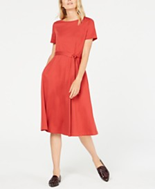 Weekend Max Mara Alare Bow-Trim A-Line Dress