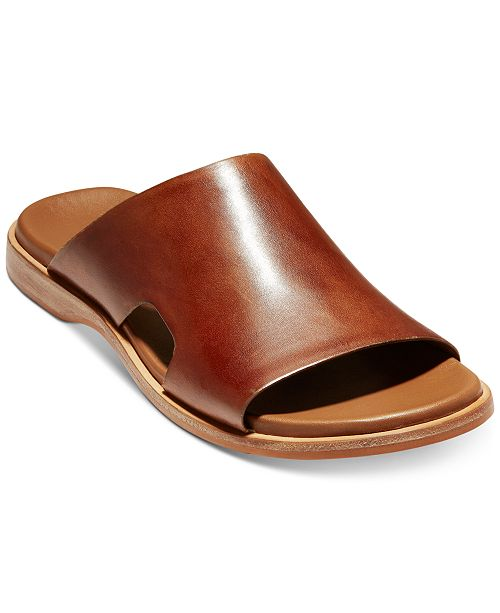 9495fc153 Cole Haan Men s Goldwyn 2.0 Slide Sandals   Reviews - All Men s ...