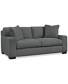 "Bangor 81"" Fabric Apartment Sofa - Custom Colors, Created for Macy's"