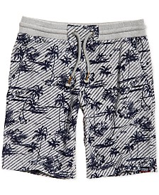 Superdry Men's Textured Palm Tree Shorts