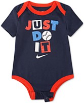 8c9e8a229b5a Nike Baby Boys Just Do It Graphic Bodysuit