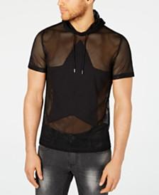 I.N.C. Men's Star Hooded T-Shirt, Created for Macy's