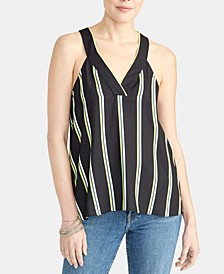 Edina Striped Racerback Tank Top