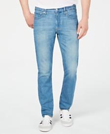 Calvin Klein Jeans Men's Slim-Fit Hard Blue Jeans