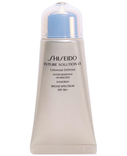 Shiseido Future Solution LX Universal Defense SPF 50+, 1.7-oz.