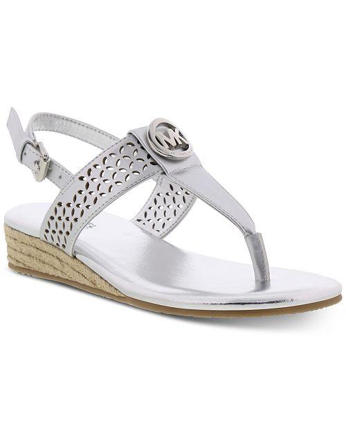 Michael Kors Little & Big Girls Perry Peony Sandals