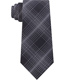 Kenneth Cole Men's Tyler Classic Plaid Tie