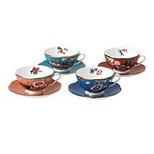 Paeonia Blush Set/4 Teacup & Saucer