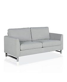 CosmoLiving by Cosmopolitan Dante Sofa with Chrome Legs