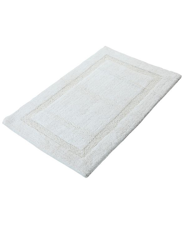 "Saffron Fabs Regency 50"" x 30"" Non-Skid Cotton Bath Rug ..."