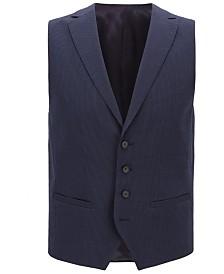 BOSS Men's Seersucker Waistcoat