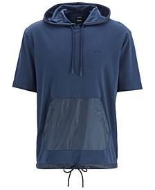 BOSS Men's Hooded Cotton T-Shirt