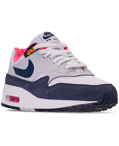 hot sale online 08433 5be24 Nike Women's Air Max 1 Casual Sneakers from Finish Line & Reviews ...