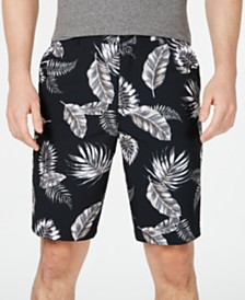"Kenneth Cole New York Floral Tech 10"" Cargo Shorts"