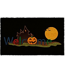 "Halloween Welcome 17"" x 29"" Coir/Vinyl Doormat"