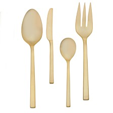 Vera Wang Wedgwood Polished Gold 4 Piece Hostess Set
