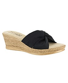 Tuscany by Dinah Wedge Sandals