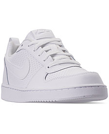 Nike Boys' Court Borough Low Casual Sneakers from Finish Line