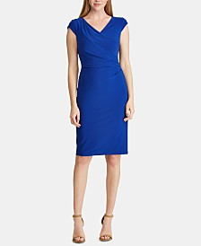 Lauren Ralph Lauren Petite Ruched Dress