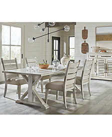 Trisha Yearwood Home Coming Dining Furniture, 5-Pc. Set (Table & 4 Side Chairs)