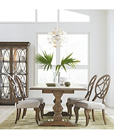 Trisha Yearwood Jasper County Stately Brown Dining Collection