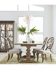 Jasper County Stately Brown Dining Collection