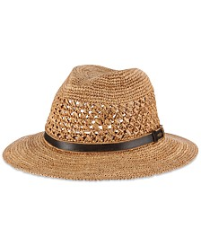 Dorfman Pacific Men's Crocheted Safari Hat