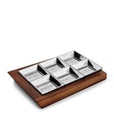 Nambé Geo Seder Plate