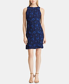Lauren Ralph Lauren Petite Sleeveless Lace Dress