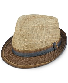 Dorfman Pacific Men's Two-Tone Fedora