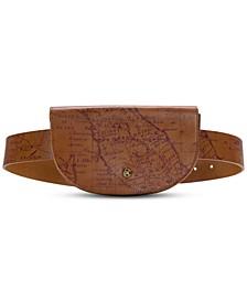 Ponticelli Map Print Belt Bag