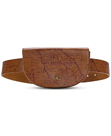 Patricia Nash Ponticelli Map Print Belt Bag