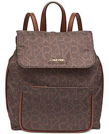Calvin Klein Abby Signature Backpack