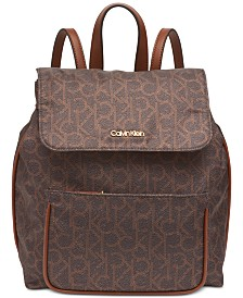Calvin Klein Abby Signature Backpack