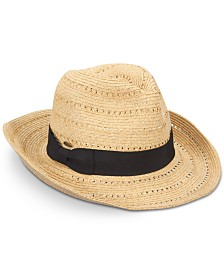 Dorfman Pacific Men's Panama Outback Hat