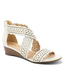 XOXO Ambridge Wedge Sandals