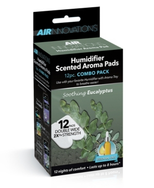 Image of Air Innovations Humidifier Aroma Pads - 12 Pack Eucalyptus Scent