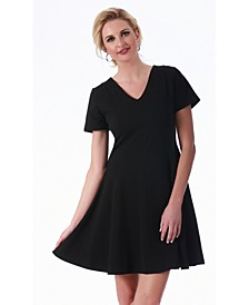 Lamonir Short V-Neck Dress