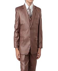 Tazio 2 Button Vested Boys Suit, 5 Pc