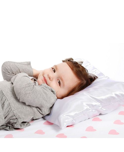 Everything Kids Toddler Pillow with Satin Pillowcase